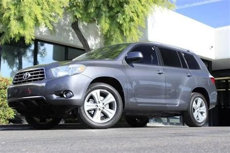 Fuel Efficient V6 Cars by Find Used 2008 Toyota Highlander Sport Sunroof Fuel