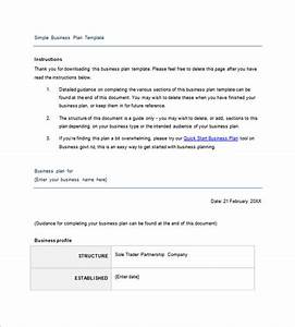 simple business proposal format wwwimgkidcom the With simplified business plan template