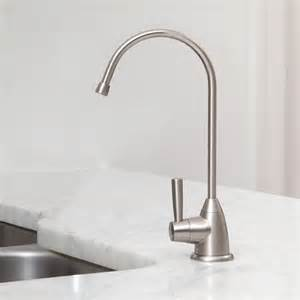 kitchen faucet water purifier counter water filter with brushed nickel faucet springs