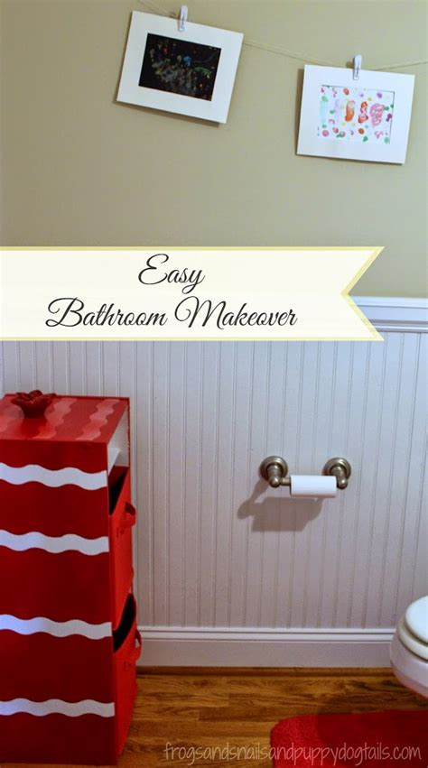 Easy Bathroom Makeover by Easy Bathroom Makeover Fspdt