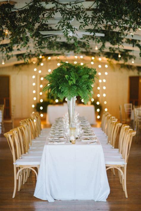A Laid Back Fern Filled Wedding Aisle Society