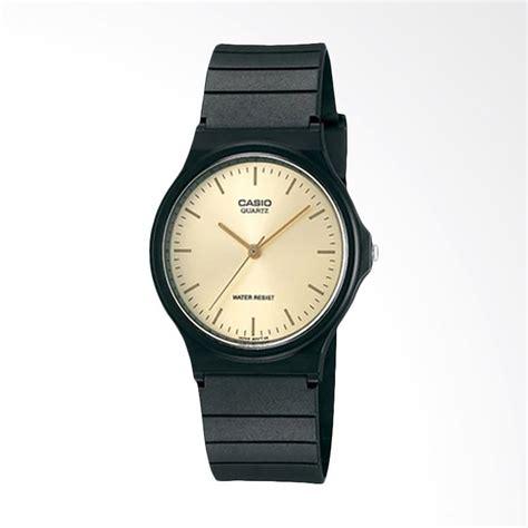 jual casio mq 24 9eldf standard classic quartz jam tangan wanita black harga