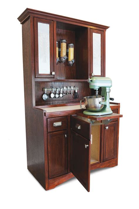 hoosier cabinet plans diy mother earth news