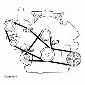 1989 Volvo 760 Serpentine Belt Routing And Timing Belt