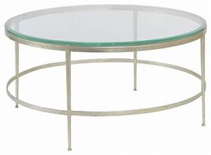modern round cocktail table beveled glass traditional With traditional glass coffee tables