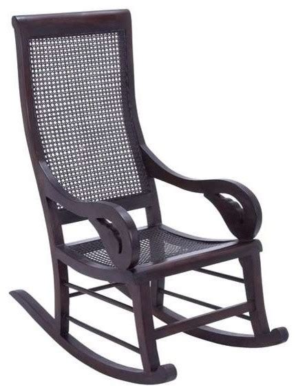 teak wooden solid rocking chair for indoor and outdoor