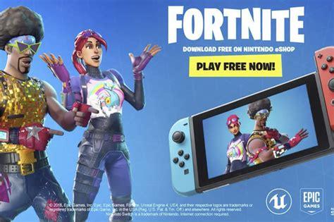 fortnite nintendo switch battle royale  release