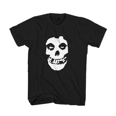 The Misfits Punk Rock Band Logo Man's T-Shirt | Rock band ...