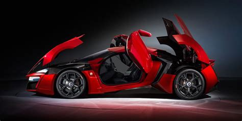 The Pricey Lykan Hypersport Is 1 of the Fastest Cars in ...