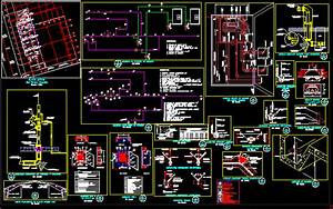 Details Of Water Supply Networks In Autocad