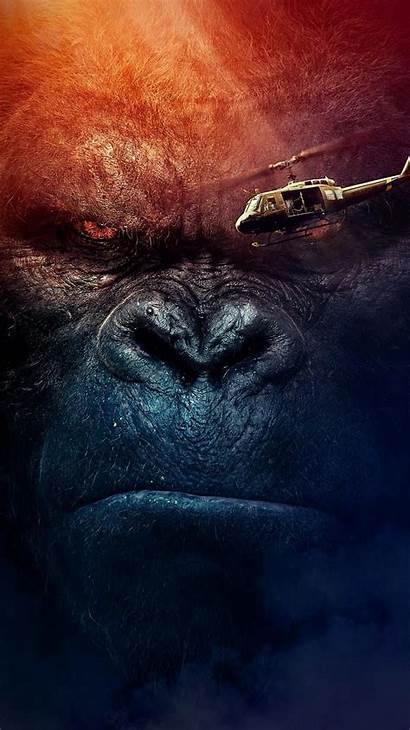 Kong Island Skull Phone Moviemania Wallpapers King