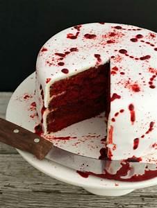Halloween Kuchen Achtung: ein leckerer Vampiralarm!
