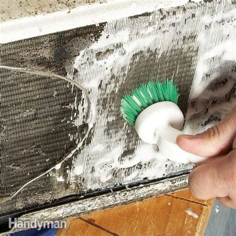 how to clean a window fan how to clean a room air conditioner the family handyman