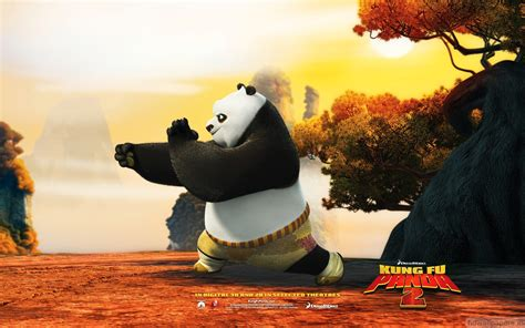 Kung Foo Panda Wallpaper Po In Kung Fu Panda 2 Wallpapers Hd Wallpapers