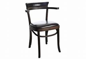 Chaise Enfant Avec Accoudoir : chaise bistrot en ch ne brun avec accoudoir 57x77cm j line j line b ~ Teatrodelosmanantiales.com Idées de Décoration