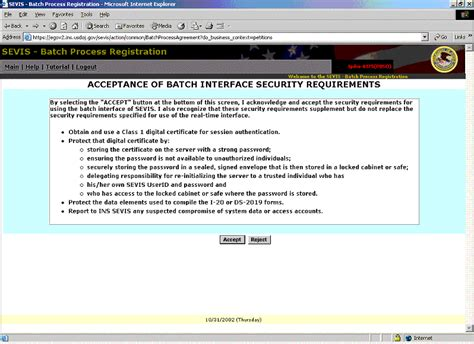 Sevis Batch Help Desk sevis batch transfer tutorial