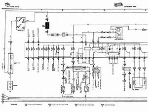 Wiring Diagram For Instrument Cluster For 91 Ls400