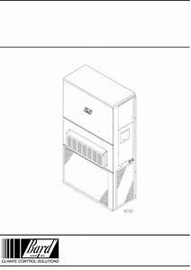 Bard Air Conditioner Wa372 User Guide