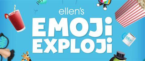 ellens  days  giveaways todays emoji exploji secret