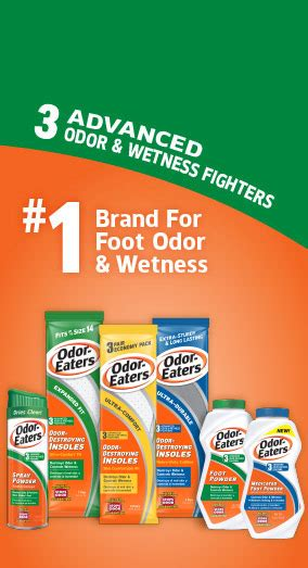 Odor Eaters | #1 Brand For Foot Odor & Wetness