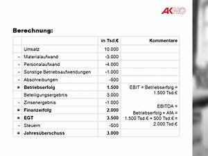 Umsatzrentabilität Berechnen : neue bilanzkennzahlen ppt video online herunterladen ~ Themetempest.com Abrechnung