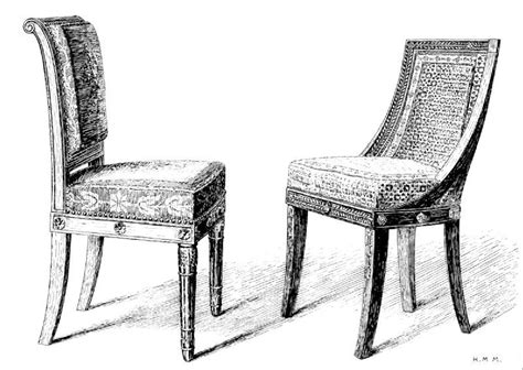 dessin d une chaise chaise dessin