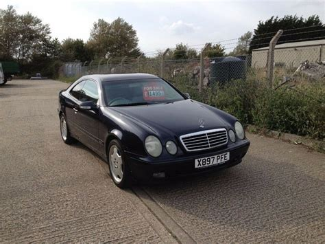 mercedes clk 230 kompressor mercedes clk 230 kompressor elegance coupe 6 speed manual blue amg x reg in lowestoft