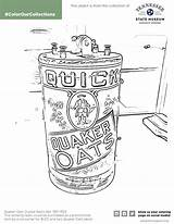 Oats Coloring Template sketch template