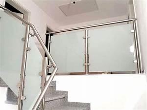 Treppengeländer Mit Glas : glasgel nder bausatz f r moderne balkongel nder mit glas ~ Markanthonyermac.com Haus und Dekorationen