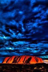 Uluru Ayers Rock Australia Sunset