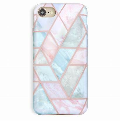 Iphone Case Marble Geometric