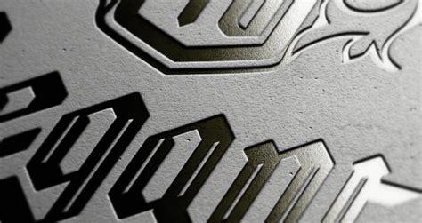 letterpress logo mock  template  psd mock