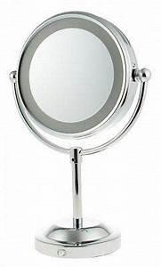 Make Up Spiegel : verlichte make up spiegel exlcusief batterijen verchroomd metaal ~ Orissabook.com Haus und Dekorationen