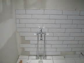 4x16 white subway tiles backsplash pinterest