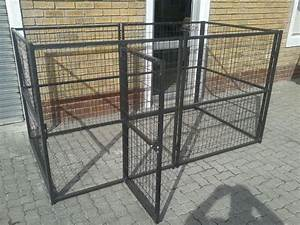 custom dog pen square shape powder coated can be With custom dog pens