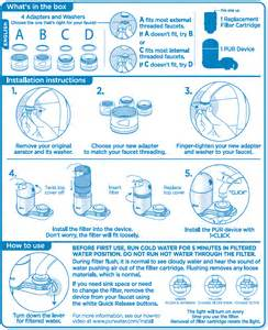 Metal Faucet Adapter For Pur Water Filter by Support Pur Com