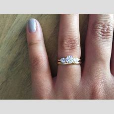 15 Best Collection Of Three Stone Engagement Rings With