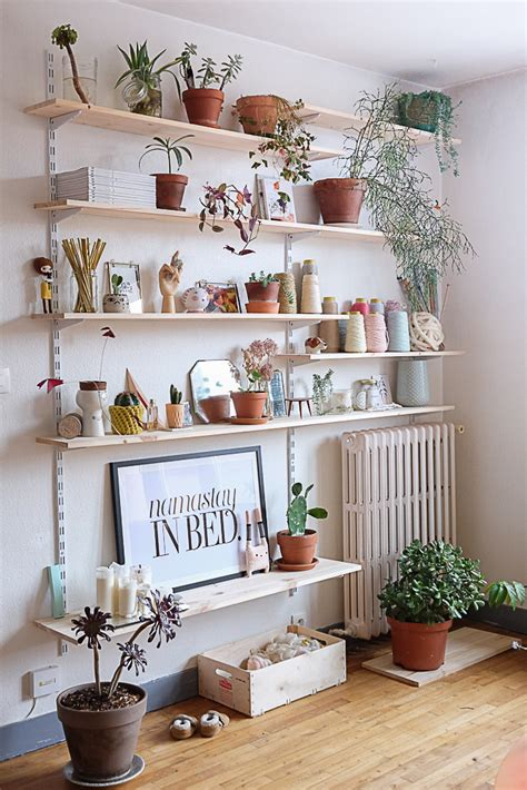 Decorating Ideas For Kitchen Plant Shelves by 7 Different Way To Indoor Plants Decoration Ideas In