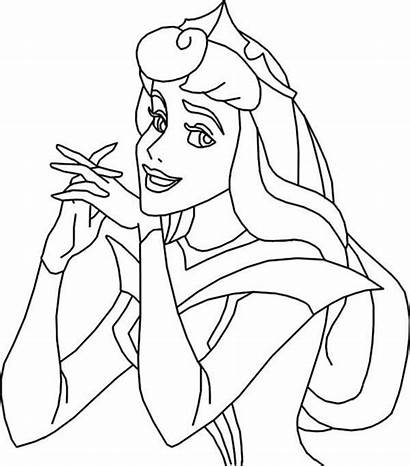 Aurora Coloring Princess Kidsplaycolor