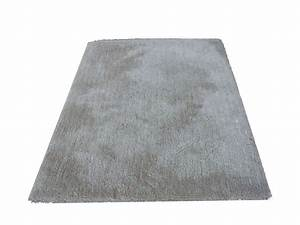 Tapis 120x170 cm velour coloris gris conforama pickture for Tapis gris conforama