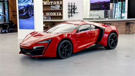 The Lykan Hypersport from the movie