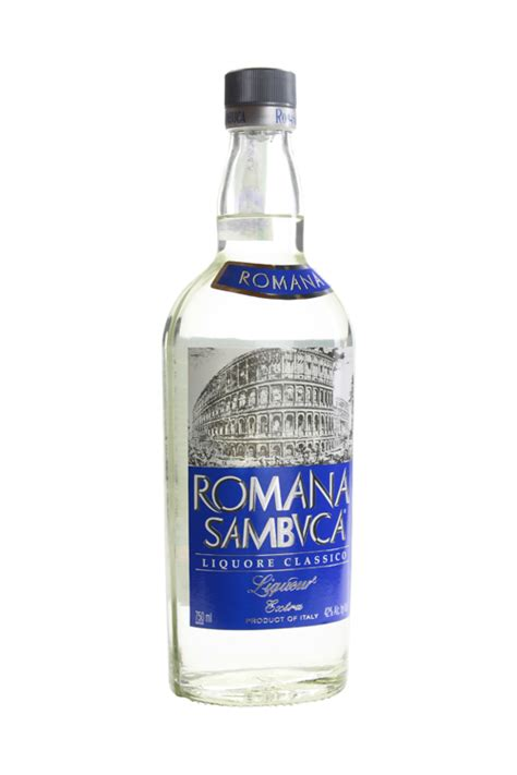 Spirit Cabinet by Romana Sambuca Liqueur Classico 750ml Cellar Com