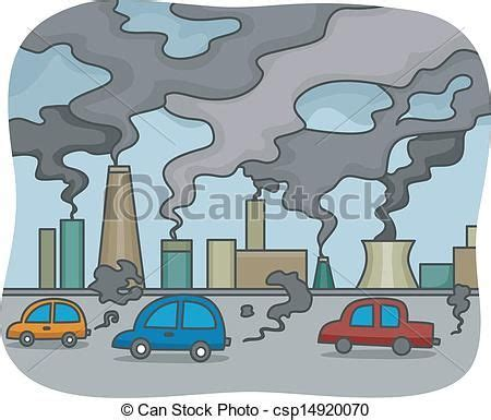 image result  air pollution drawing  air