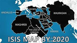 End Times News 2015 - Horrifying Map Of Countries ISIS ...