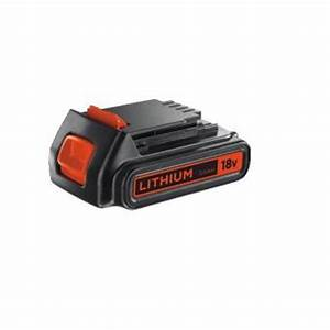 Chargeur Batterie Black Et Decker : batterie lithium black decker 18v 2ah chargeurs batteries et socles achat prix fnac ~ Melissatoandfro.com Idées de Décoration