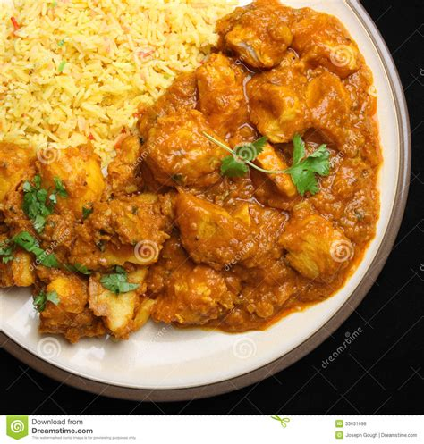 cuisine poulet curry vert indian chicken curry food dinner royalty free stock photos