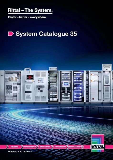 rittal publishes  system catalogue rittal  system