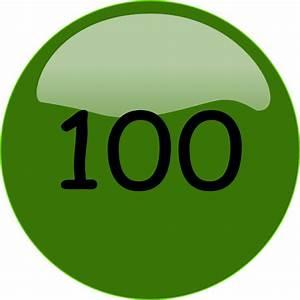 100.png Clip Art at Clker.com - vector clip art online ...