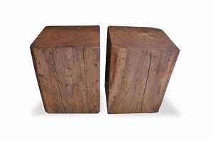 52 best salvaged and reclaimed solid wood cubes images With solid wood block coffee table