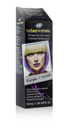 walmart temporary hair color dippity do colorstreak temporary hair colour purple